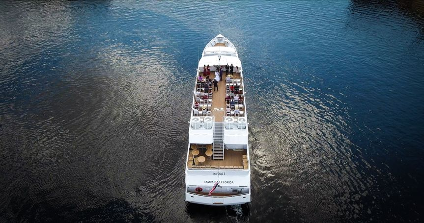Yacht StarShip II Ceremony