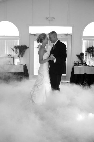 Dancing on The Clouds - Bride & Groom First Dance at Occasions At Wedgefield in Central, SC