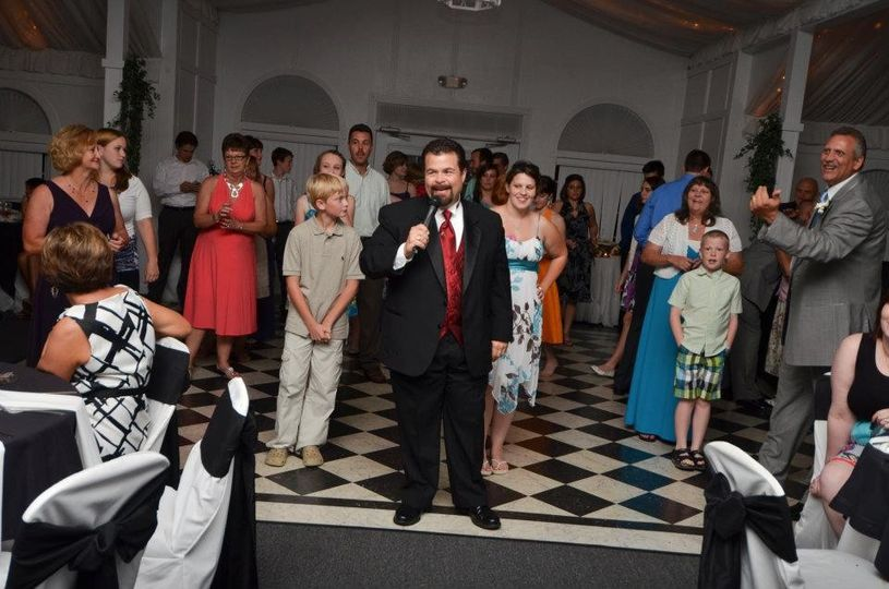 Teaching the new dance - Wedding reception at Occasions at Wedgefield