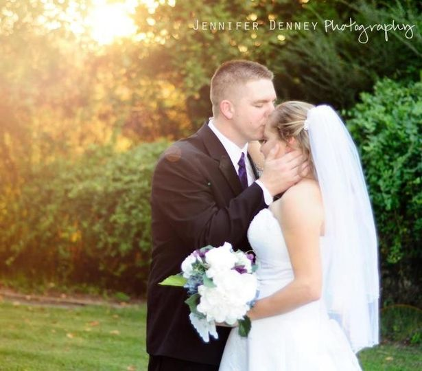 Newlyweds Chaz & Georgina at Occasions At Wedgefield in Central SC.