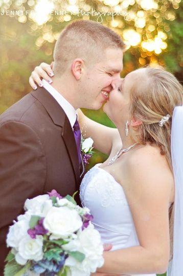 Ladies and Gentlemen .... Bride & Groom... Chaz & Georgina... You may kiss your bride!