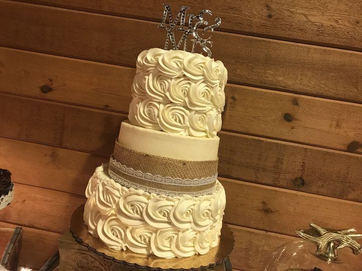 CupCakers - Wedding Cake - Oswego, NY - WeddingWire