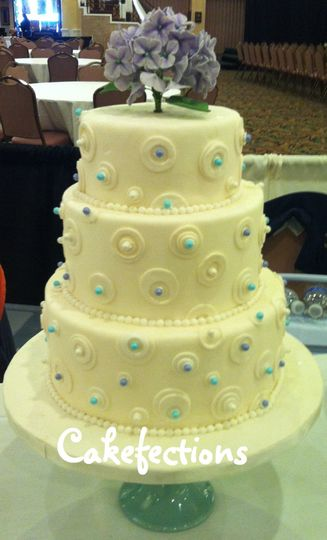 Cakefections - Wedding Cake - Naperville, IL - WeddingWire