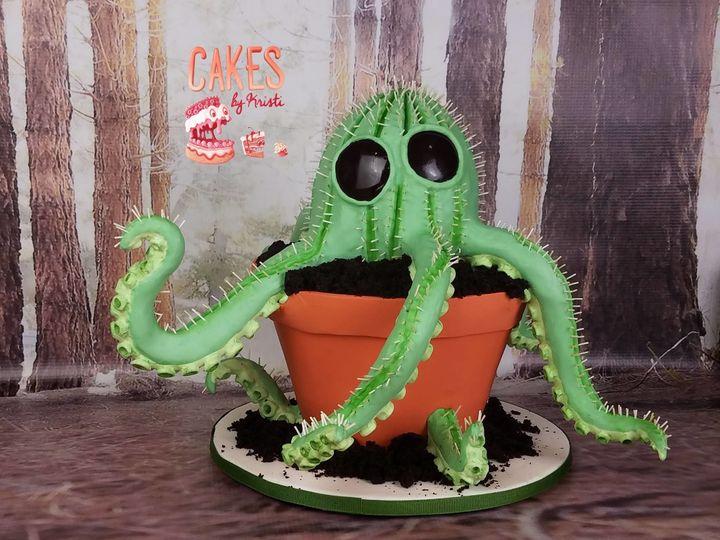 Cactipus Cake