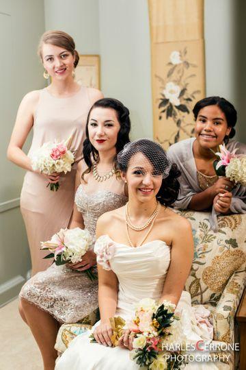 Deco Room - Bride+smaids