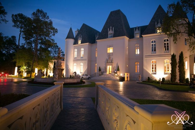Chateau Cocomar at night