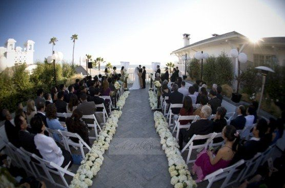 Ceremony at Shutters on the Beach, Santa Monica