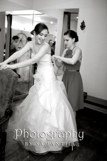 One of my beautiful brides Rebecca. She was awesome to work with.  She is a new college graduate...