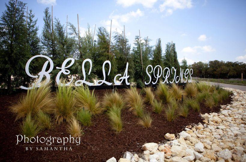 Bella Springs.  More details.