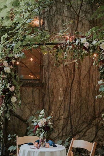 Planta baja wedding