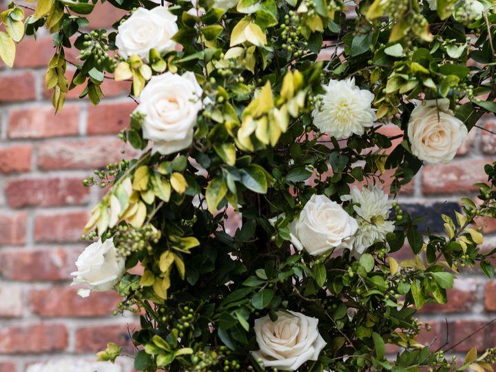 Tmx Wythe Hotel Classic White Green Wedding 15 51 999658 Brooklyn, NY wedding florist