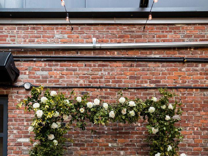 Tmx Wythe Hotel Classic White Green Wedding 21 51 999658 Brooklyn, NY wedding florist