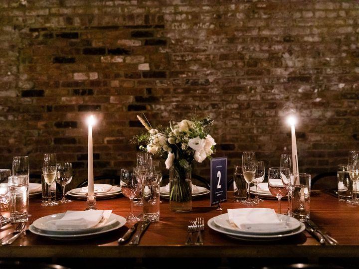 Tmx Wythe Hotel Classic White Green Wedding 47 51 999658 Brooklyn, NY wedding florist