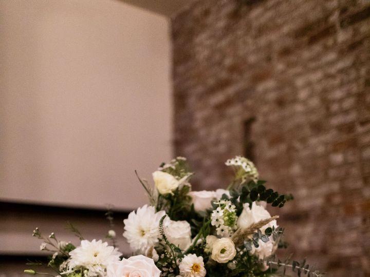 Tmx Wythe Hotel Classic White Green Wedding 61 51 999658 Brooklyn, NY wedding florist
