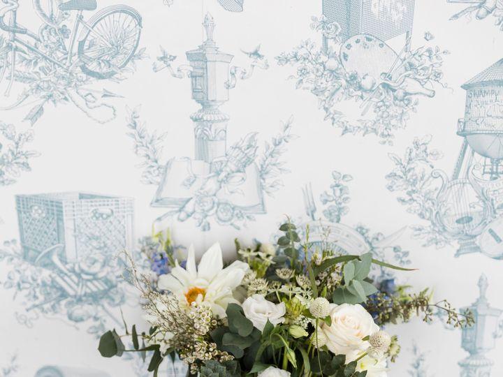 Tmx Wythe Hotel Classic White Green Wedding 8 51 999658 Brooklyn, NY wedding florist