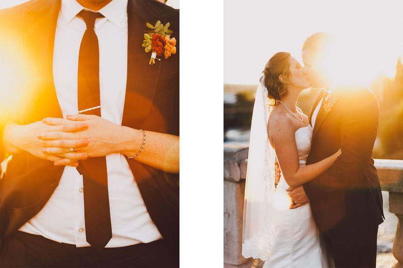 best seattle wedding photographer sunset luma wedd