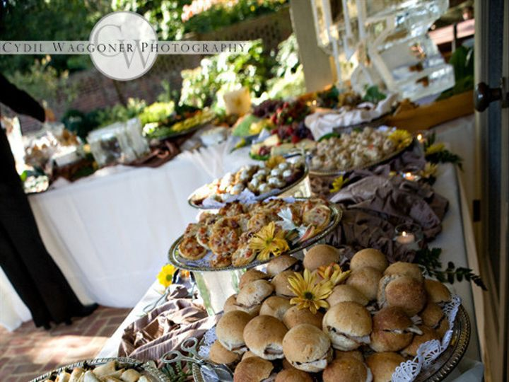 Tmx 1366819787701 Beautifully Designed Buffet Line Lexington, Kentucky wedding catering