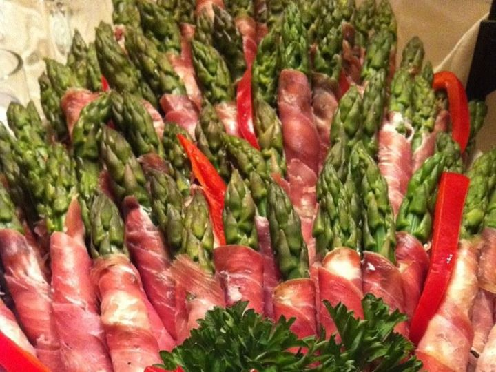 Tmx 1366820639013 Asparagus Wrapped In Prosciuto Lexington, Kentucky wedding catering