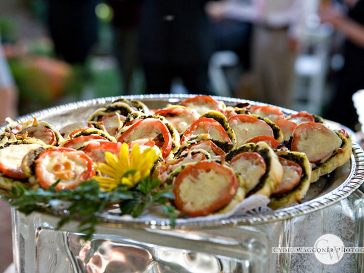 Tmx 1366820860391 Crostinis   Mozzarella Fresh Basil And Tomato 2 Lexington, Kentucky wedding catering