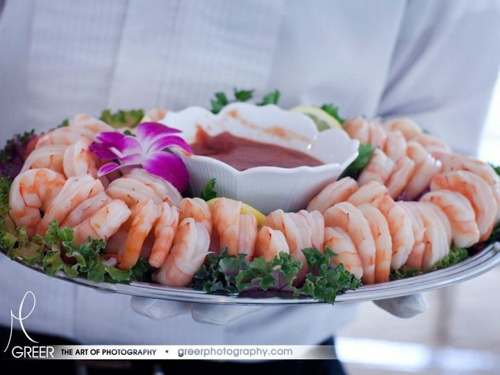 Tmx 1366820995049 Fresh Jumbo Shrimp Platter Passed By Seasons Catering Lexington Ky Lexington, Kentucky wedding catering