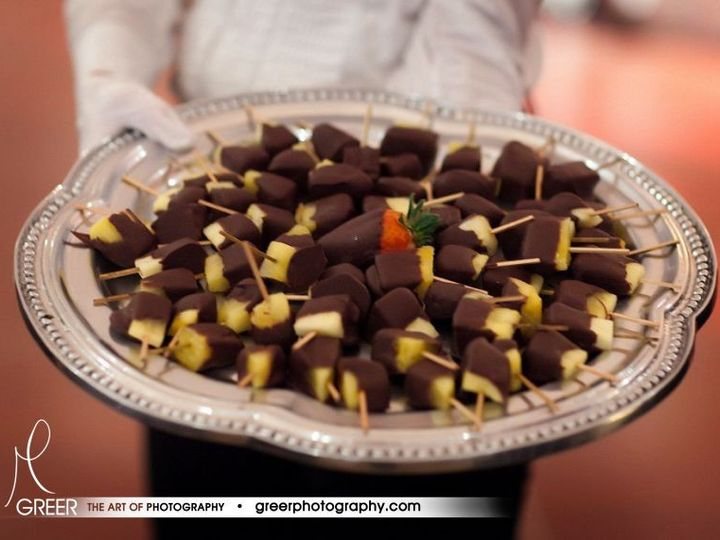 Tmx 1366821005400 Hand Delivered Chocolate Covered Fruits Lexington, Kentucky wedding catering