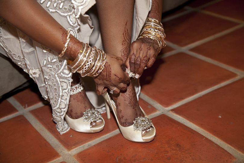 Beautiful Henna Hands and Feet