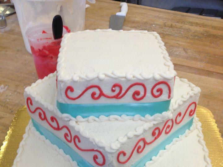 Tmx 1374590916020 Wedding Cake Photo 1 Fairport wedding cake