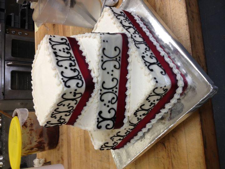 Tmx 1381357230650 Wedding Cake Photo 3 Fairport wedding cake