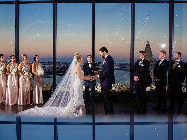Tmx State Room Great Room Vows At Dusk With Reflection Marina Baklanova 51 3758 158464390499234 Boston, MA wedding venue