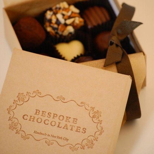 Bespoke Chocolates Favors Gifts New York Ny Weddingwire