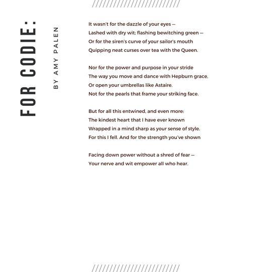 Poem Commission 2
