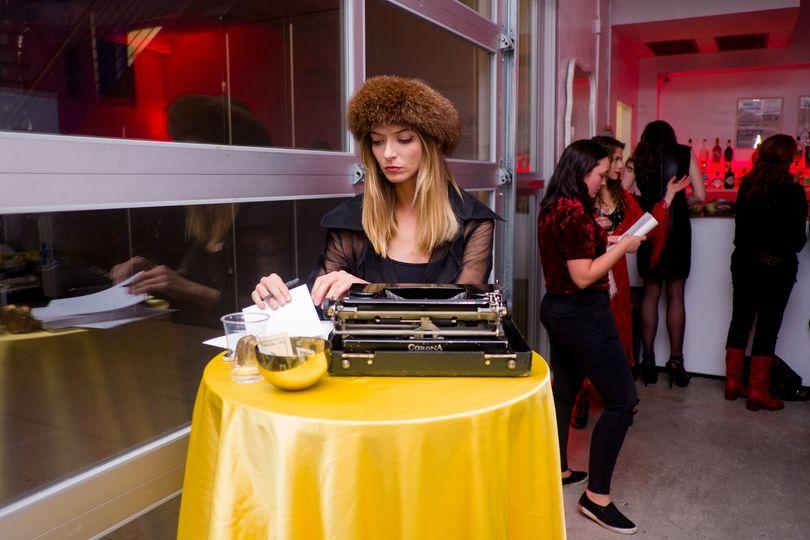 Typewriter Poet 2
