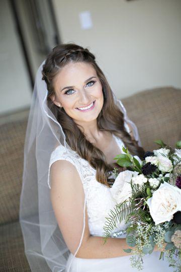 Photographer: JessFoto Hair Stylist: MacKenzie at Blushing Brides Makeup Artist: Tiffany Martin:...