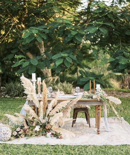 Swanky Sweetheart Table
