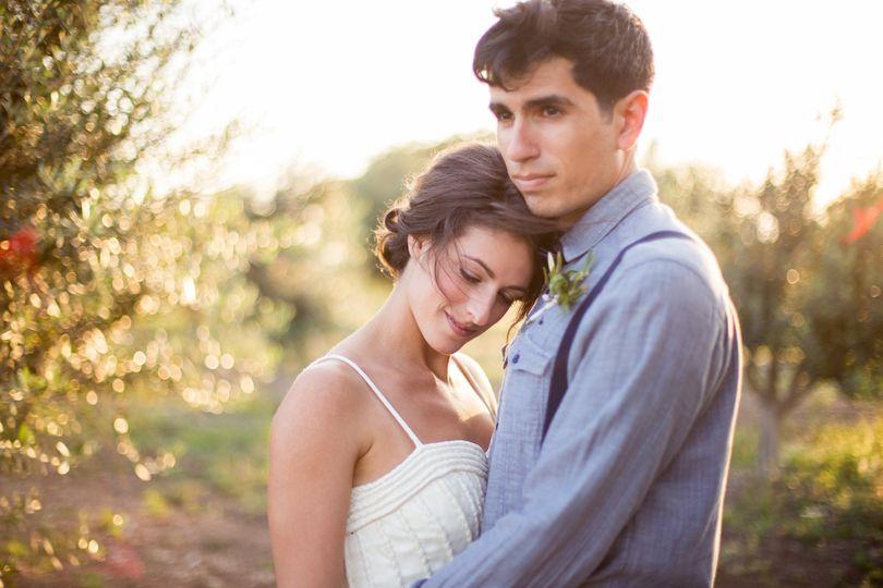 olive orchard wedding photos 1