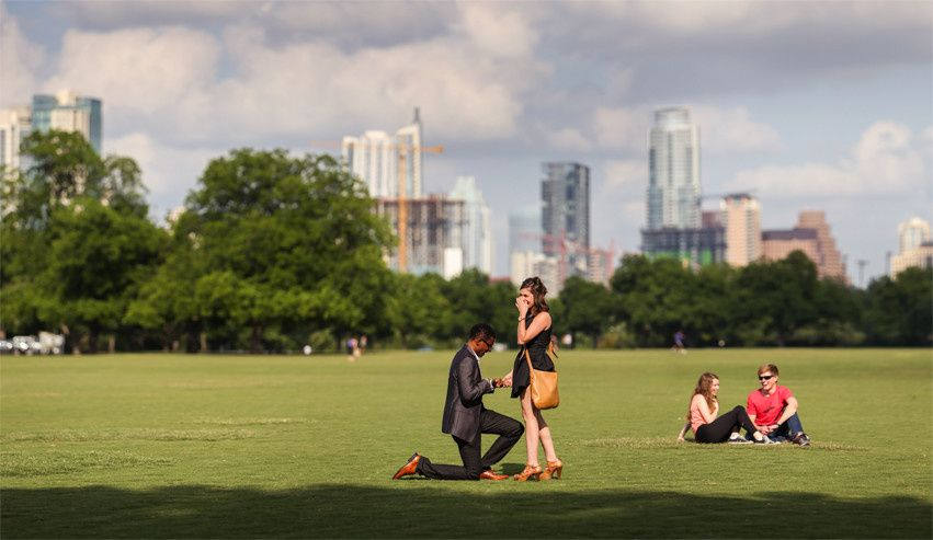 zilker park proposal shelley elena photo