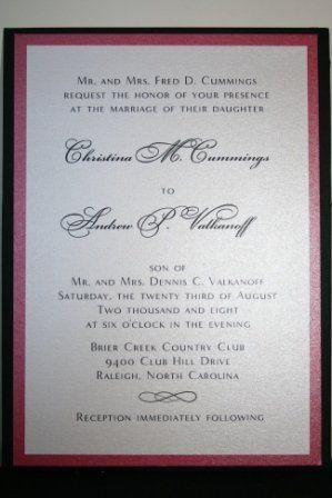Tmx 1317946576116 Invitation10 Fuquay Varina wedding invitation