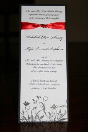 Tmx 1317946584960 Invitation13 Fuquay Varina wedding invitation