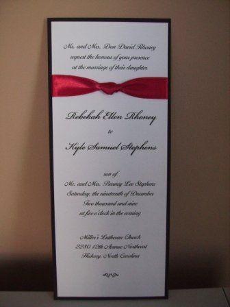 Tmx 1317946587585 Invitation14 Fuquay Varina wedding invitation