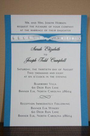 Tmx 1317946615553 Invitation28 Fuquay Varina wedding invitation