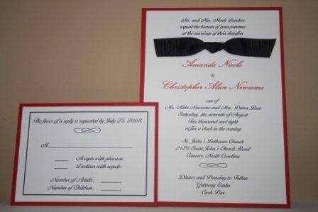 Tmx 1317946626100 Invitation32 Fuquay Varina wedding invitation