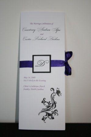 Tmx 1317946754132 Program1 Fuquay Varina wedding invitation