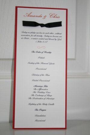 Tmx 1317946769663 Program15 Fuquay Varina wedding invitation