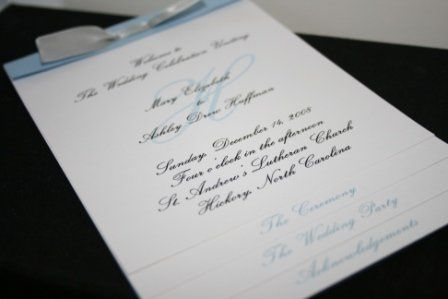 Tmx 1317946783960 Program6 Fuquay Varina wedding invitation