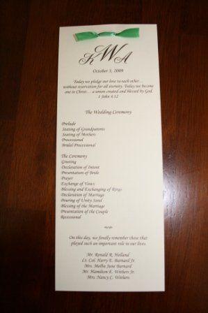 Tmx 1317946789116 Program8 Fuquay Varina wedding invitation