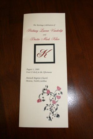 Tmx 1317946793819 Program9 Fuquay Varina wedding invitation
