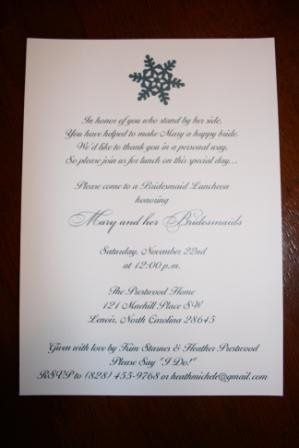 Tmx 1317950038725 BridalShower3 Fuquay Varina wedding invitation