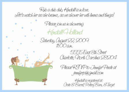 Tmx 1317950047444 BridalShower6 Fuquay Varina wedding invitation