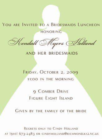 Tmx 1317950050335 BridalShower7 Fuquay Varina wedding invitation