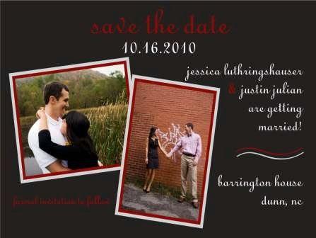 Tmx 1317950256176 FinalSavetheDatePicture2 Fuquay Varina wedding invitation